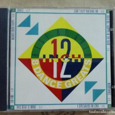 CDs de Música: CD BEST OF GOLD 12 INCH. 8 DANCE GREATS. Lote 287842508