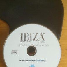 CDs de Música: FORMENTERA IBIZA STYLE BY CHIC FLOWERZ, THE SNAKEMAN & FRIENDS 2009. Lote 287853453