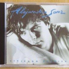 CDs de Música: ALEJANDRO SANZ (VIVIENDO DEPRISA) CD 1991. Lote 287867078