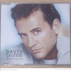 CDs de Música: DAVID CASTEDO (COMO TE QUIERO TE QUIERO) CD SINGLE 2000 * PRECINTADO. Lote 287867748