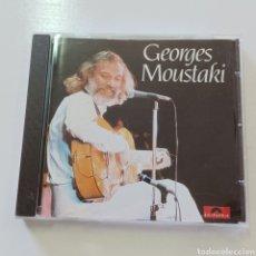CDs de Música: GEORGES MOUSTAKI. Lote 287875208