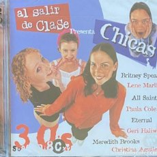 CDs de Música: CD AL SALIR DE CLASE PRESENTA CHICAS 2 CDS PRECINTADO AQUITIENESLOQUEBUSCA ALMERIA. Lote 287900623