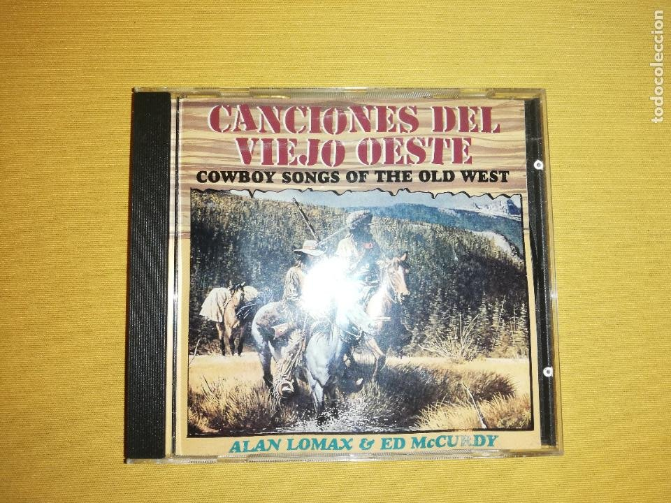 CANCIONES DEL VIEJO OESTE(COWBOY SONGS OF THE OLD WEST) - ALAN LOMAX & ED MCCURDY (Música - CD's Country y Folk)