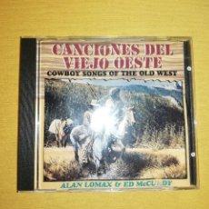 CDs de Música: CANCIONES DEL VIEJO OESTE(COWBOY SONGS OF THE OLD WEST) - ALAN LOMAX & ED MCCURDY. Lote 287901818