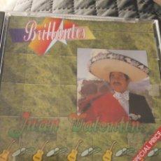 """CDs de Música: CD JUAN VALENTIN """" BRILLANTES """". Lote 287955358"""