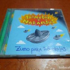 CDs de Música: TRIMELÓN DE NARANJUS. ZUMO PARA TUS OREJAS. MUCHACHITO BOMBO INFERNO. CD EN BUEN ESTADO. Lote 287958103
