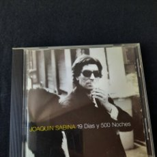CDs de Música: JOAQUIN SABINA 19 DÍAS Y 500 NOCHES CD. Lote 287961563