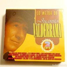 CDs de Música: LO MEJOR DE JUANITO VALDERRAMA. 2 CDS. SIN ABRIR.. Lote 287962958