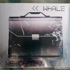 CDs de Música: WHALE – WE CARE CD, DIGIPAK UK 1995. Lote 287975813
