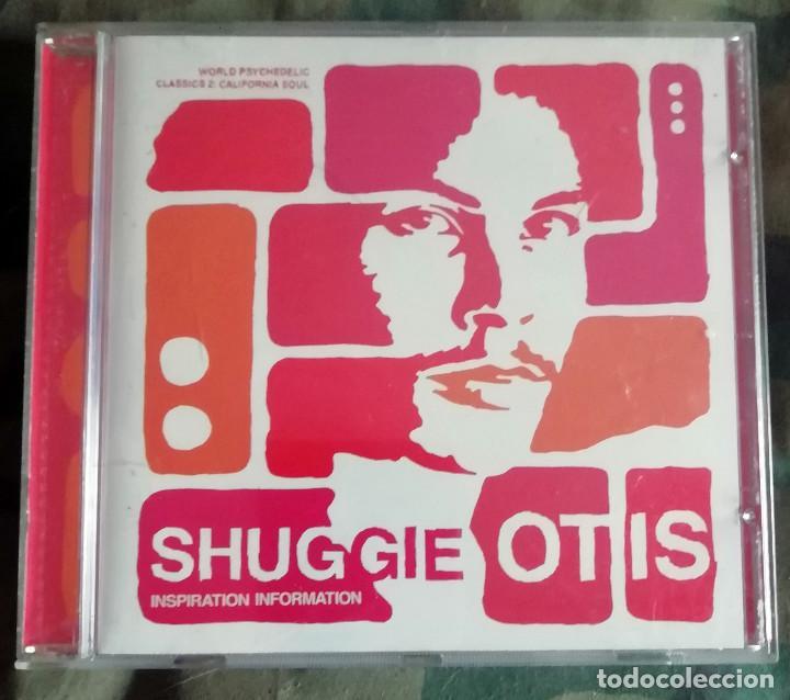 SHUGGIE OTIS – INSPIRATION INFORMATION CD, REMASTERED EUROPE 2001 (Música - CD's Jazz, Blues, Soul y Gospel)