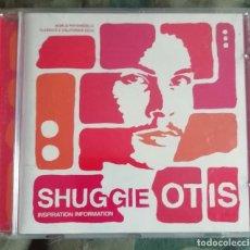 CDs de Música: SHUGGIE OTIS – INSPIRATION INFORMATION CD, REMASTERED EUROPE 2001. Lote 287976038