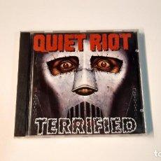 CDs de Música: 0921 - QUIET RIOT - TERRIFIED // CD. Lote 287979803