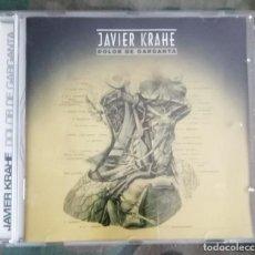 CDs de Música: JAVIER KRAHE - DOLOR DE GARGANTA CD 12 TEMAS - 18 CHULOS RECORDS. Lote 287979843