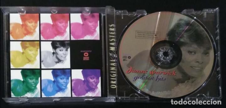 CDs de Música: DIONNE WARWICK (GREATEST HITS) CD 1994 Edición Australia - Foto 3 - 287988238