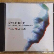 CDs de Música: PAUL MAURIAT (LOVE IS BLUE - BEST COLLECTION) CD 1998. Lote 287988618