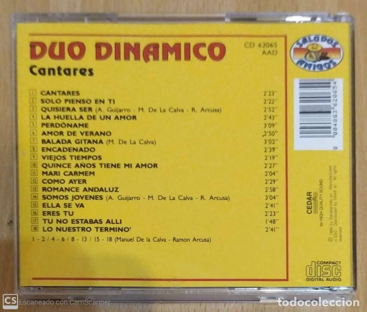 CDs de Música: DUO DINAMICO (CANTARES) CD 1995 - Foto 2 - 287992728