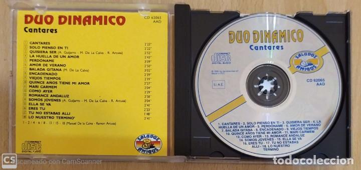 CDs de Música: DUO DINAMICO (CANTARES) CD 1995 - Foto 3 - 287992728