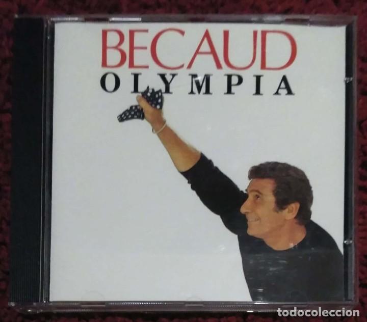 GILBERT BECAUD (OLYMPIA) CD 1991 (Música - CD's Melódica )
