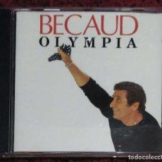 CDs de Música: GILBERT BECAUD (OLYMPIA) CD 1991. Lote 287993613