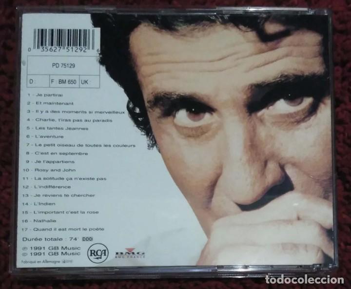 CDs de Música: GILBERT BECAUD (OLYMPIA) CD 1991 - Foto 2 - 287993613