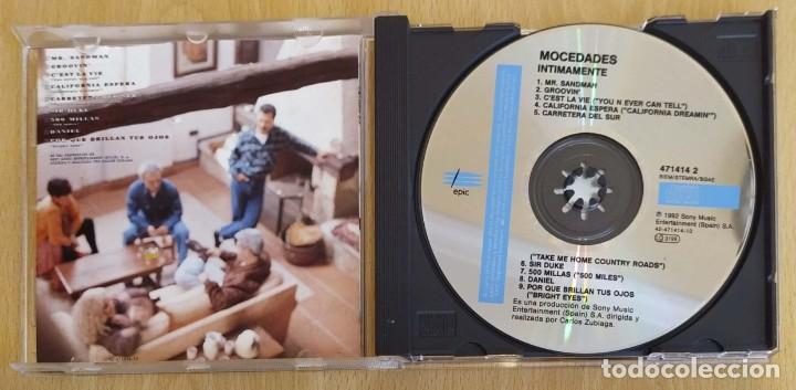 CDs de Música: MOCEDADES (INTIMAMENTE) CD 1992 - Foto 3 - 287993943
