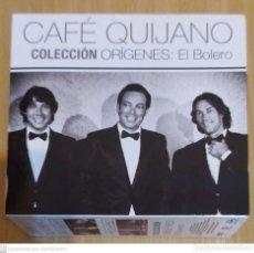 CDs de Música: CAFE QUIJANO (COLECCION ORIGENES: EL BOLERO) 5 CD'S + DVD 2015 (VER FOTOS Y DESCRIPCIÓN). Lote 287995798