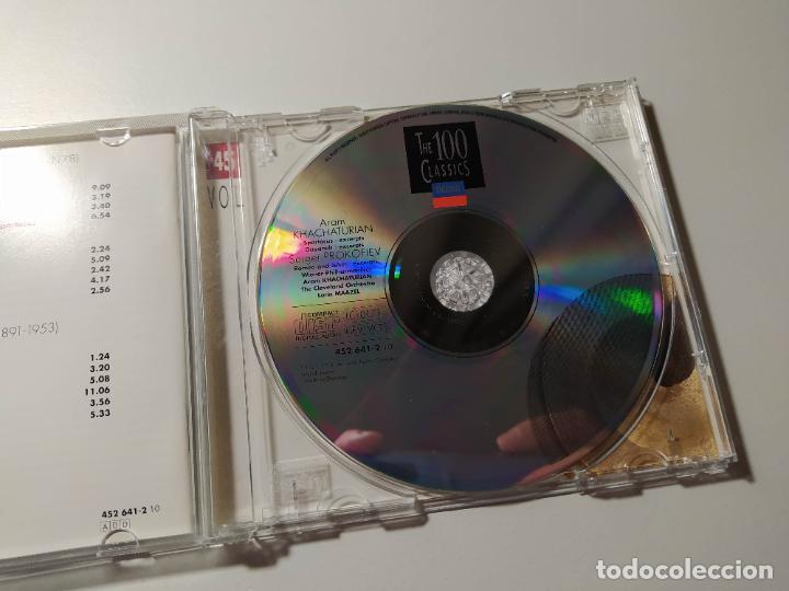 CDs de Música: KHACHATURIAN PROKOFIEV. SABRE DANCE. ROMEO AND JULIET. CD. MAAZEL. THE 100 CLASSICS VOL 45 TDKCD55 - Foto 2 - 288008358