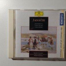 CDs de Música: JANACEK. SINFONIETTA. TARAS BULBA. CANCERTINO. BAVARIAN RADIO ORCHESTRA. DEUTSCHE GRAMMOPHON TDKCD55. Lote 288008708