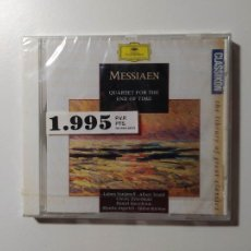 CDs de Música: MESSIAEN - QUARTET FOR THE END OF TIME / THEME AND VARIATIONS - CD. NUEVO. TDKCD55. Lote 288008868