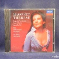 CDs de Música: MASSENET - TOURANGEAU, DAVIES, QUILICO , NEW PHILHARMONIA ORCHESTRA / RICHARD BONYNGE - THÉRÈSE - CD. Lote 288009378