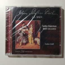 CDs de Música: JOHANN SEBASTIAN BACH. SUITES FRANCESAS. BWV 812-815. ANDRAS SCHIFF. CD. NUEVO. TDKCD55. Lote 288010938