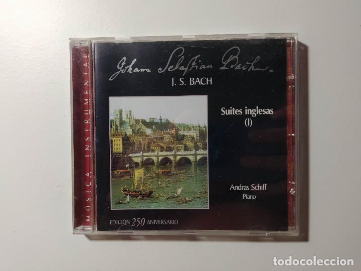 JOHANN SEBASTIAN BACH. SUITES INGLESAS I. ANDREAS SCHIFF. CD. TDKCD56 (Música - CD's Clásica, Ópera, Zarzuela y Marchas)