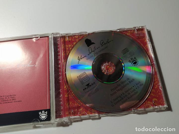 CDs de Música: JOHANN SEBASTIAN BACH. PEQUEÑO LIBRO DE ANNA MAGDALENA. TOLZER KNABENCHOR. CD. TDKCD56 - Foto 2 - 288011713