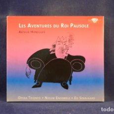 CDs de Música: ARTHUR HONEGGER, OPERA TRIONFO, NIEUW ENSEMBLE, ED SPANJAARD - LES AVENTURES DU ROI PAUSOLE - CD. Lote 288012763