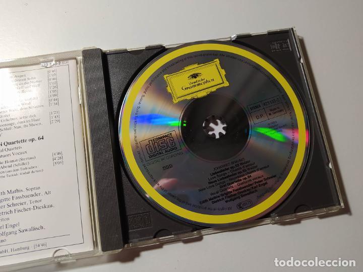 CDs de Música: Johannes Brahms. Liebeslieder Walzer OP. 52 65. Edith Mathis. CD. Deutsche Grammophon. TDKCD56 - Foto 2 - 288014318