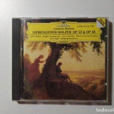 CDs de Música: JOHANNES BRAHMS. LIEBESLIEDER WALZER OP. 52 65. EDITH MATHIS. CD. DEUTSCHE GRAMMOPHON. TDKCD56. Lote 288014318