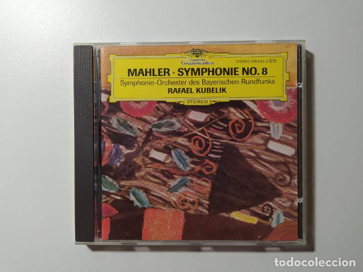SYMPHONIE NR. 8 SYMPHONIE DER TAUSEND. SYMPHONY OF A THOUSAND. MAHLER. KUBELIK. CD. TDKCD56 (Música - CD's Clásica, Ópera, Zarzuela y Marchas)