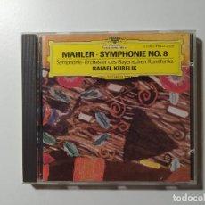 CDs de Música: SYMPHONIE NR. 8 SYMPHONIE DER TAUSEND. SYMPHONY OF A THOUSAND. MAHLER. KUBELIK. CD. TDKCD56. Lote 288014523