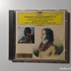 CDs de Música: PAGANINI. VIOLINKONZERT NO. 6. VIOLIN CONCERTO. SALVATORE ACCARDO. CD DEUTSCHE GRAMMOPHON. TDKCD56. Lote 288014723