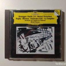 CDs de Música: HONEGGER. PACIFIC 231 HORACE VICTORIEUX. ORCHESTRE CAPITOLE TOULOUSE. MICHEL PLASSON. CD. TDKCD56. Lote 288015238