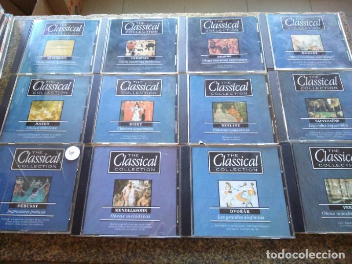 CD -- THE CLASSICAL COLLECTION -- COLECCION DE MUSICA CLASICA -- LOTE DE 19 CDS -- (Música - CD's Clásica, Ópera, Zarzuela y Marchas)