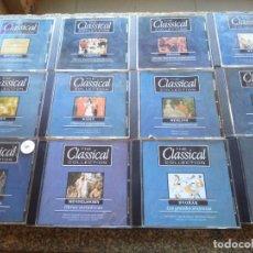 CDs de Música: CD -- THE CLASSICAL COLLECTION -- COLECCION DE MUSICA CLASICA -- LOTE DE 19 CDS --. Lote 288015338