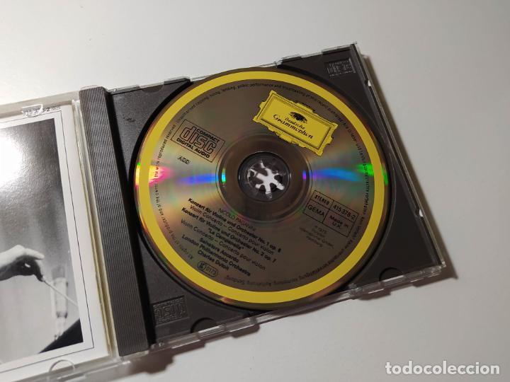 CDs de Música: PAGANINI - VIOLINKONZERTE NoS 1 Y 2 SALVATORE ACCARDO. DEUTSHCE GRAMMOPHON. C. DUTOIT. CD TDKCD56 - Foto 2 - 288016273