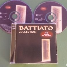 CD di Musica: SC FRANCO BATTIATO 2 CD COLLECTION 29 TEMAS EN ESPAÑOL + 5€ ENVIO C. NACIONAL 12€ EU 16€ RESTO. Lote 288032803