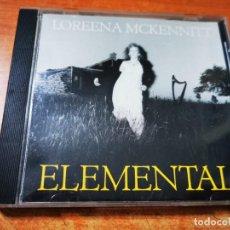 CDs de Música: LOREENA MCKENNITT ELEMENTAL CD ALBUM CANADA CONTIENE 9 TEMAS NEW AGE MUY RARO. Lote 288046048