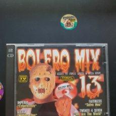 CDs de Música: BOLERO MIX 13. Lote 288050503