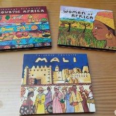 CDs de Música: LOTE DE 3 CD,S DE MUSICA AFRICANA. Lote 288079958