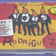 CDs de Música: LOS RODRIGUEZ - PALABRAS MÁS, PALABRAS MENOS - CD. Lote 288080418