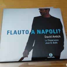 "CDs de Música: CD DE DAVID ANTICH ""FLAUTO A NAPOLI"". Lote 288086183"