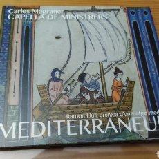 "CDs de Música: CD DE MUSICA ANTIGUA RAMON LLULL ""MEDITERRANIUM"". Lote 288088313"